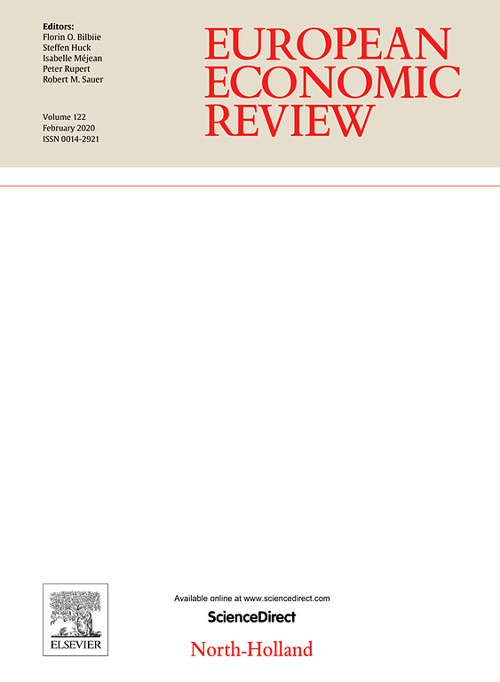 Image of the European Economic Review